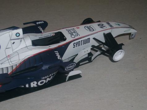 BMW Sauber F1.07 - Robert Kubica