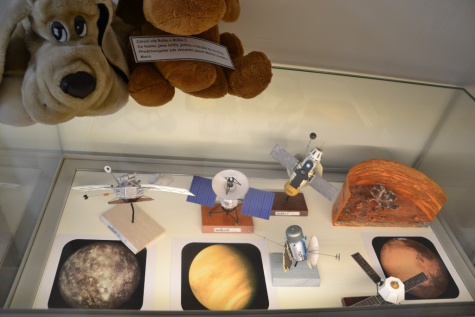 Lajka a zvířecí kosmonauti - muzeum Louny