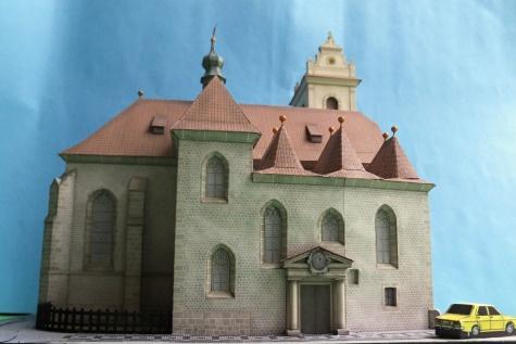 Kostel sv. Martina ve zdi, Praha