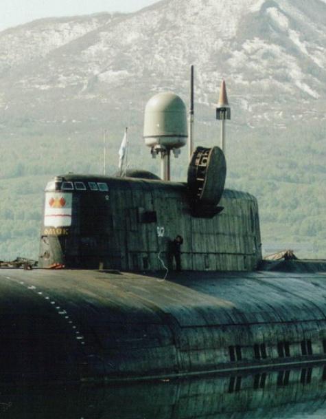 Kursk K-141 Fly Model