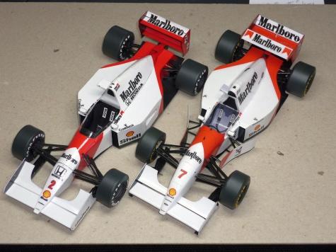 McLaren MP 4/8 - M. Andretti - GP Maďarska - 1993