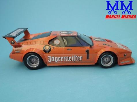 Jagermeister BMW M1 Procar, Kurt Konig, DRT 1982