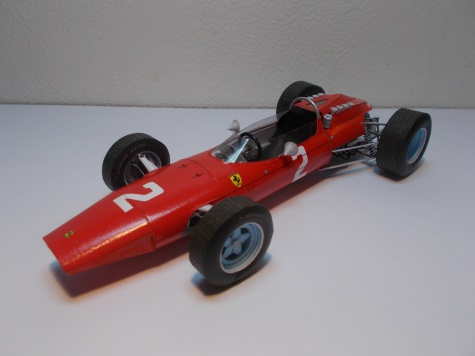 Ferrari 158, J. Surtees, GP Italy 1964