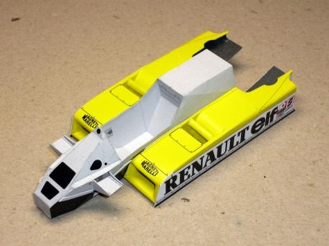 Renault RE-30 - René Arnoux - GP Francie 1981