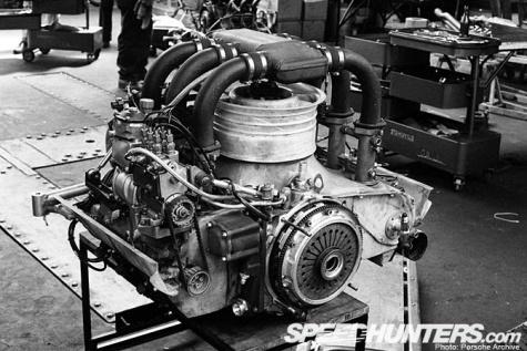 Motor Porsche 911 RSR 2.1 Turbo