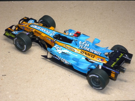Renault R26 - Fernando Alonso - GP Brazilie 2006
