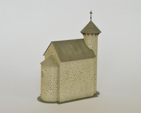 Kostol sv. Michala, Vežký Klíž - Klížske Hradište