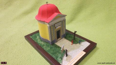 Kaplnka svateho Kriza (Trnava)-Morova kaplnka