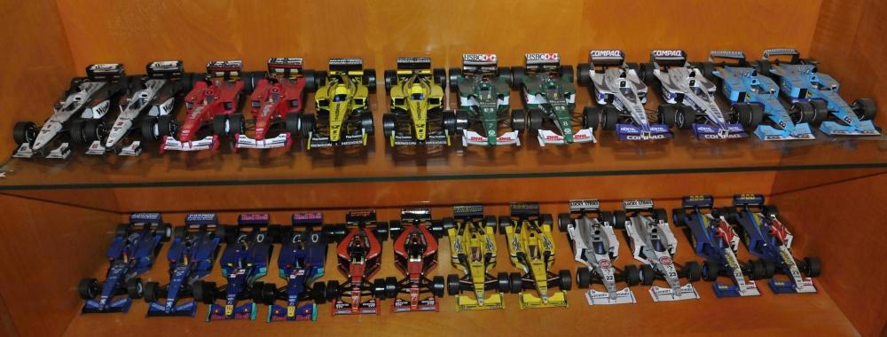 Modely F1 ročník 2000