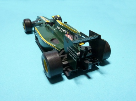 Lotus T127/GP Malaysia 2010 training