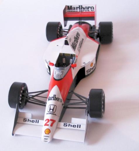 McLaren MP4/5B, 1990