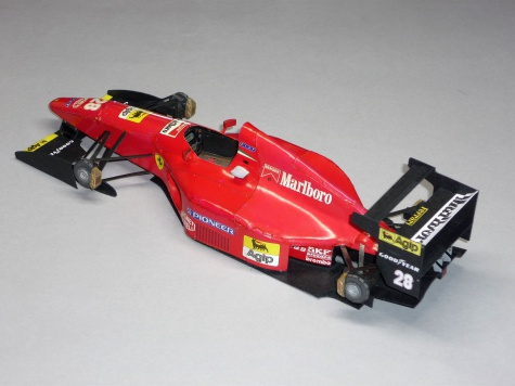 Ferrari 412T1 - Gerhard Berger - GP Monaka 1994