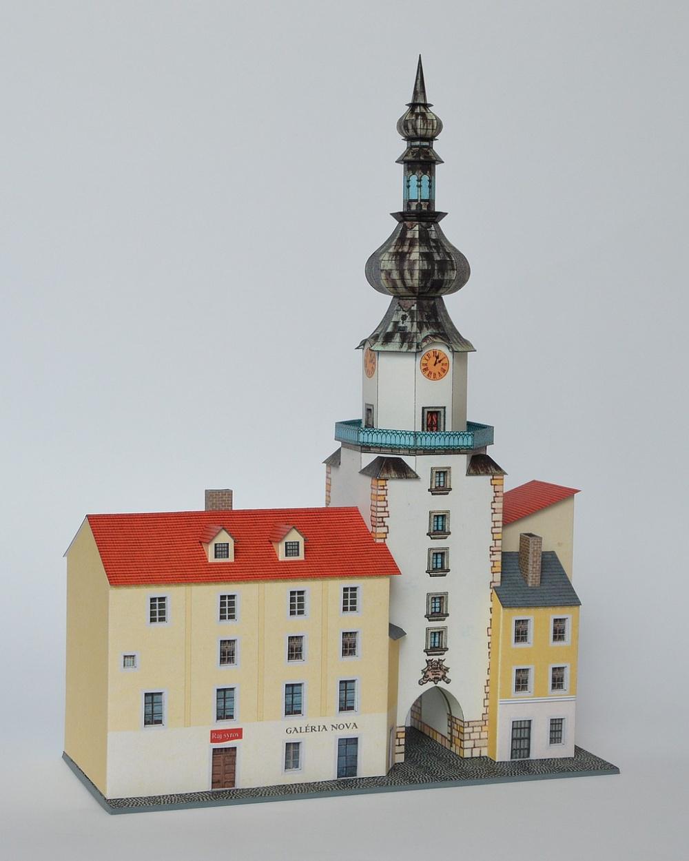 Michalská veža s meštianskymi domami, Bratislava