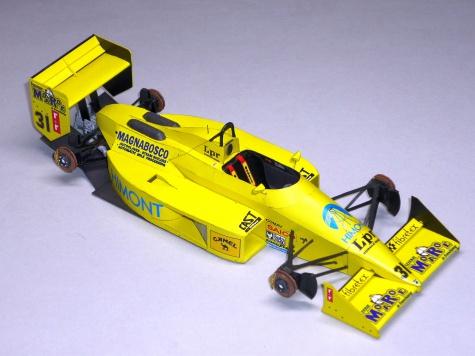 Coloni CF188 - Gabriele Tarquini - GP Monaka 1988