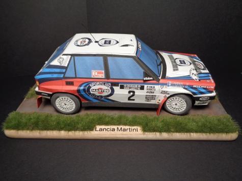Lancia Delta HF Martini