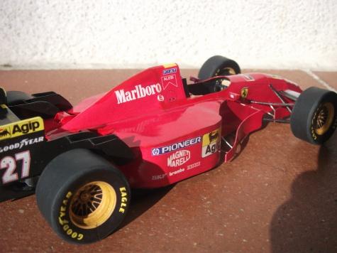 Ferrari 412 T2, Jean Alesi, GP Canada, 1995