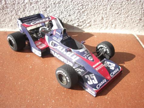 Toleman TG183B, Derek Warwick, 1983