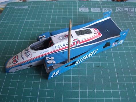 Ligier JS19, Jacques Laffite, GP Monaco, 1982