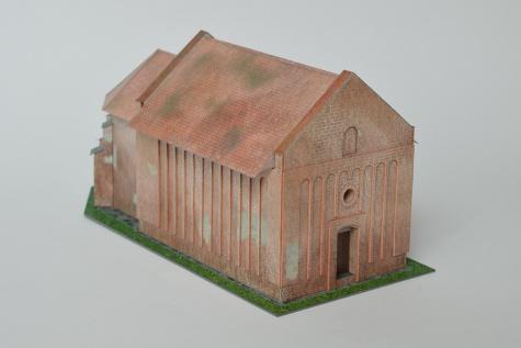 Kostol narodenia Panny Márie a zvonica, Čierny Brod - Heď