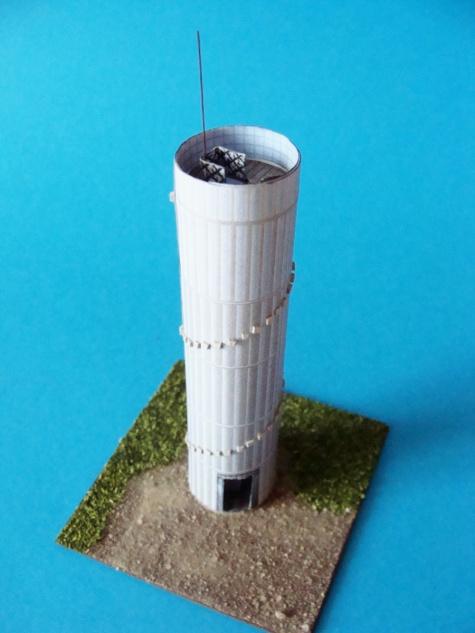 Akátová věž - Výhon
