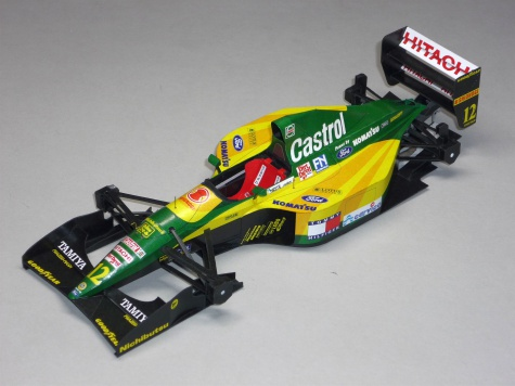 Lotus 107 - Johnny Herbrt - GP Belgie 92