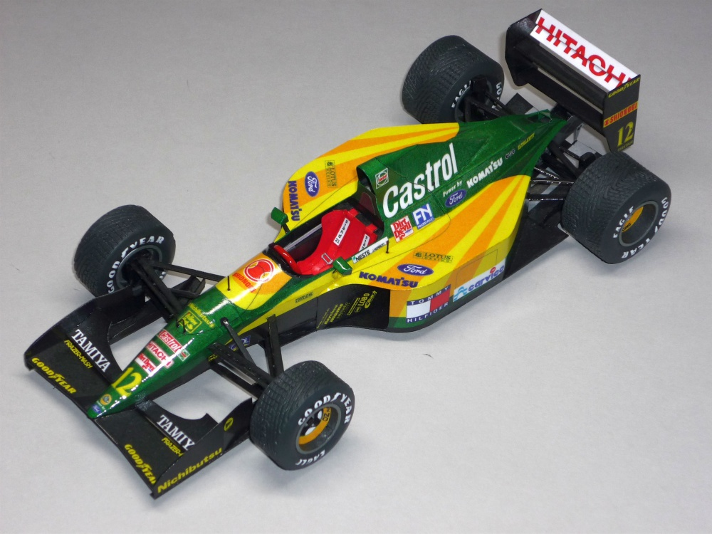 Lotus 107 - Johnny Herbert - GP Belgie 92
