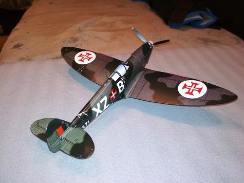 Spit Mk.Ia Portugalsko 1942