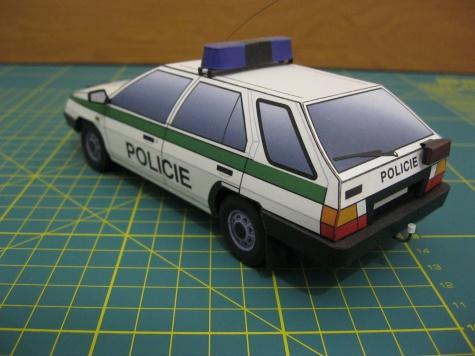 Škoda Forman Policie ČR