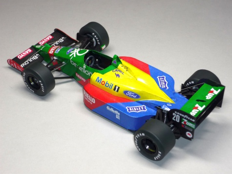 Benetton B188 - Johnny Herbert - GP San Marina 89