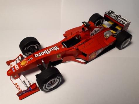 Ferrari f2000 M. Schumacher - společný model