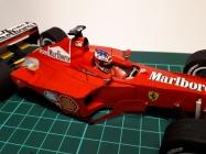 Ferrari f2000 M. Schumacher - spoleèný model