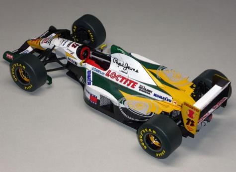 Lotus 107C - Johnny Herbert - GP San Marina 94