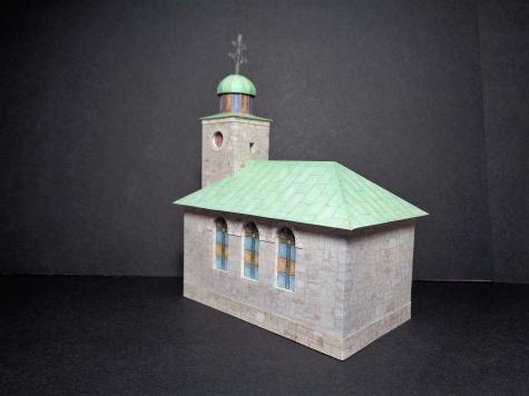 Kostel nad Kalvárií/Oščadnica