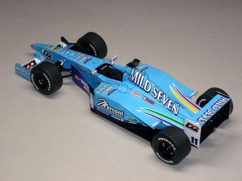 Benetton B200 - Giancarlo Fisichella - 2000 - společný model