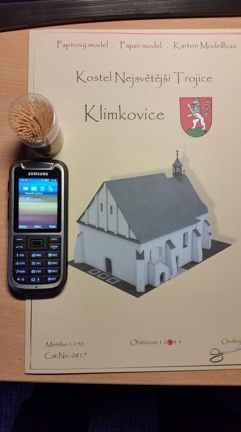 Kostel Nejsvětější Trojice Klimkovice (24-hodinovka 2017)
