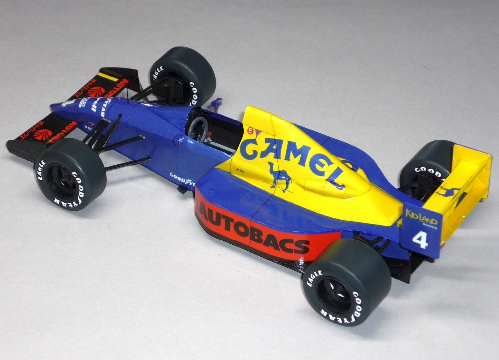 Tyrrell 018 - Jean Alesi - GP Japonska 89