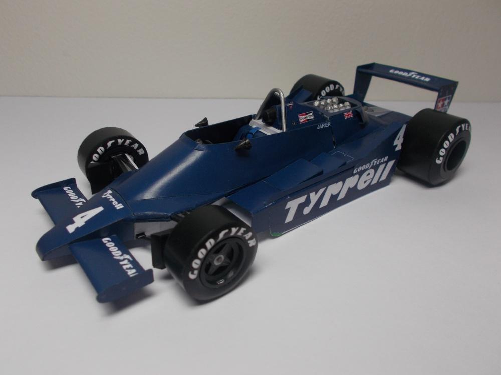 Tyrrell 009, J. P. Jarier,  GP US West 1979