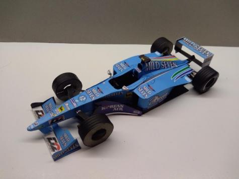 Benetton B200, 2000, A. Wurz