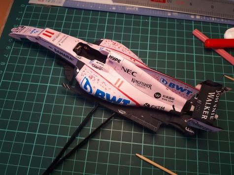 Force India VJM10 2017 - alfaparalelka