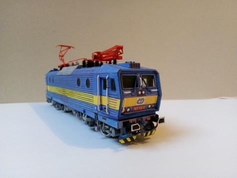 lokomotiva Škoda 69E - řada 363