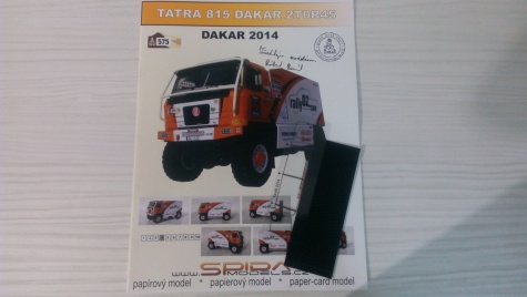 Tatra 815 2TOR45 Dakar 2014
