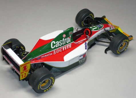 Lotus 107B - Johnny Herbert - GP Brazílie 93
