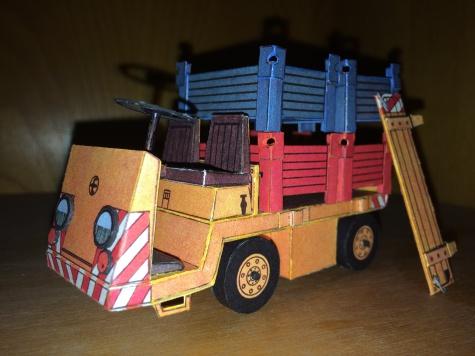 Akumulátorový vozík Balkancar