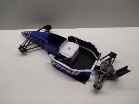 Tyrrell 018, 1989, M. Alboreto, Mexiko