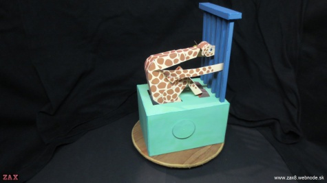 Do Not Feed The Giraffe