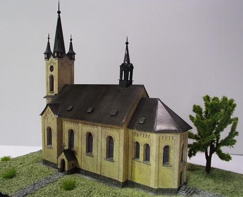 Kostel sv. Cyrila a Metoděje v Nebušicích