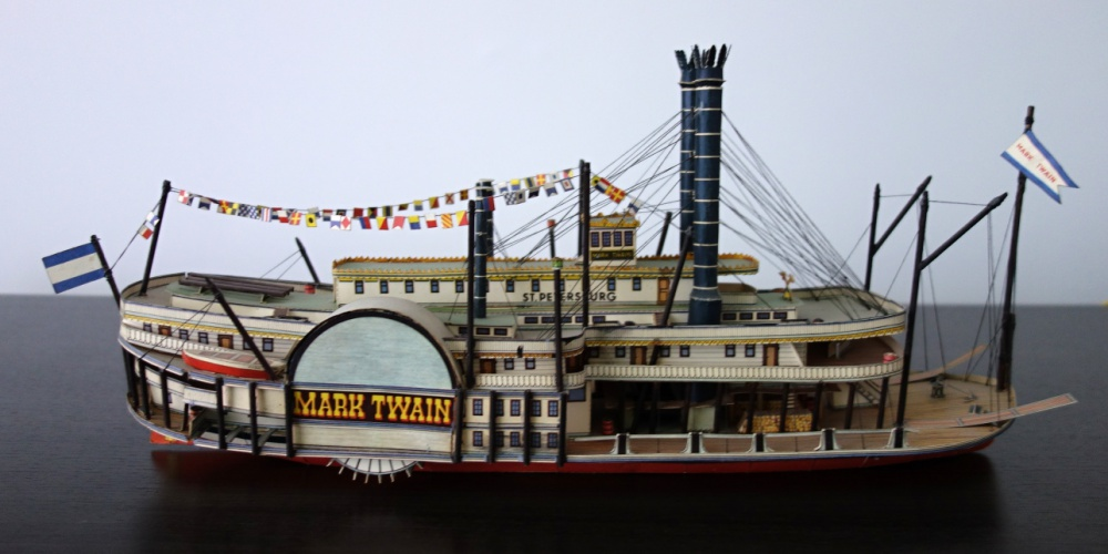 Kolesový parník Mark Twain
