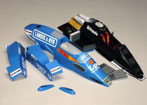 Osella FA1F - Gabriele Tarquini - GP San Marina 1987