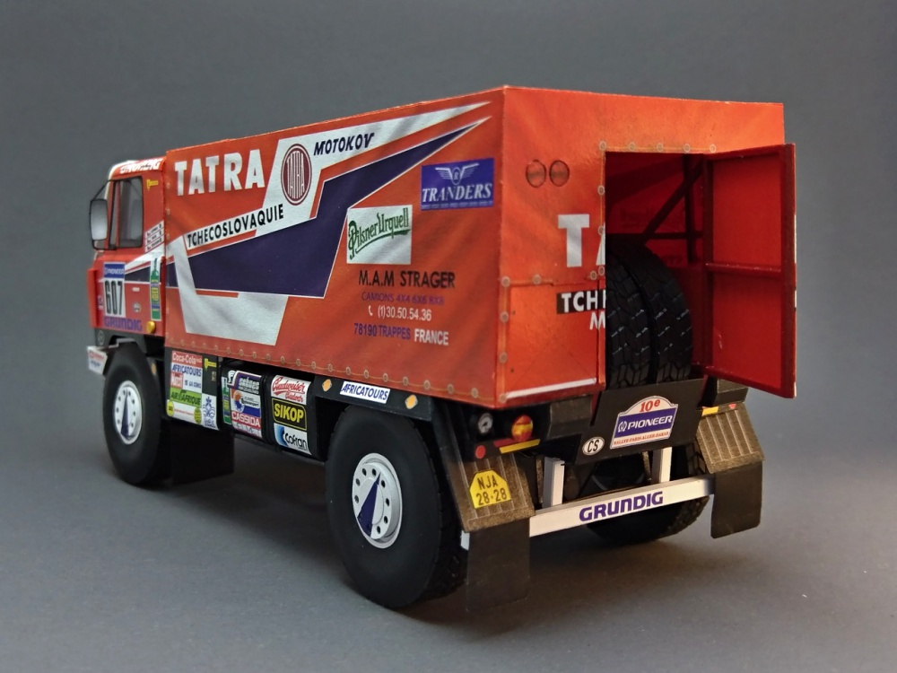 Tatra 815 VD 10 300 4x4.1 Dakar 1988