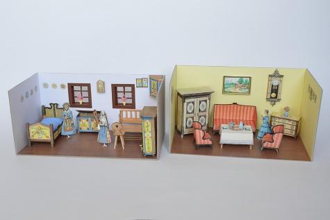 Aby panenky měly kde bydlet